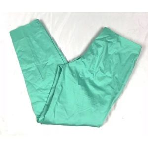 BROOKS BROTHERS Cropped Ankle Green Pants Sz 6